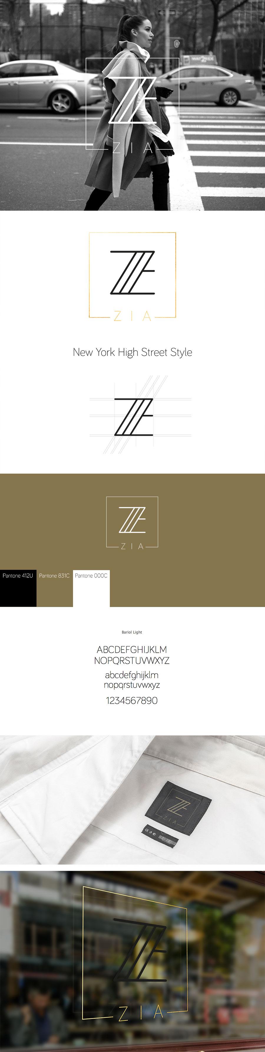 Logótervezés - ZIA