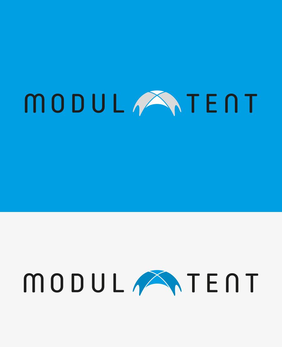 Logó tervezés - Modul Tent